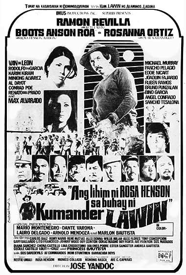 Watch Ang Lihim Ni Rosa Henson Sa Buhay Ni Kumander Lawin (1976)