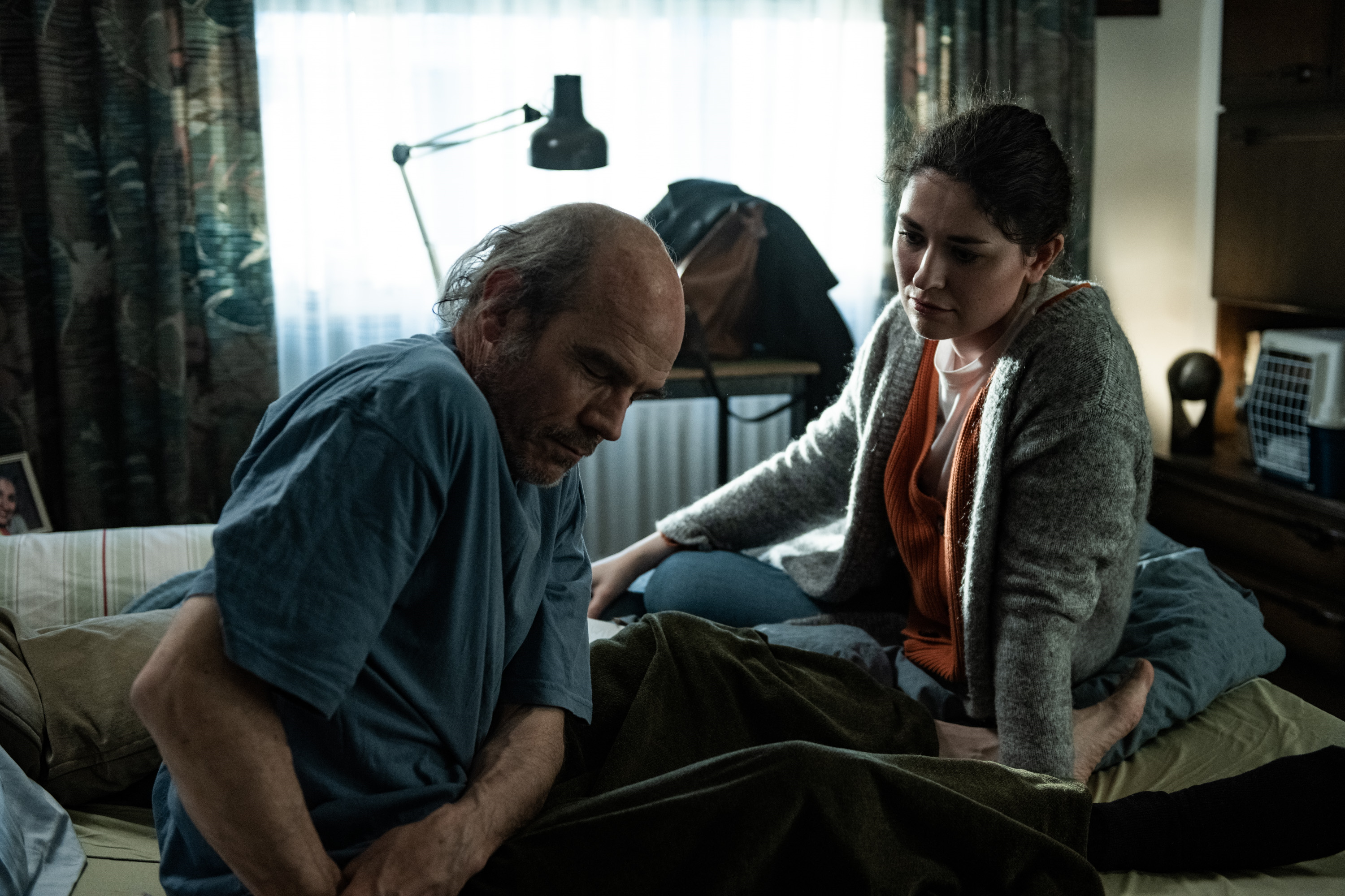 Manfred Liechti and Meret Bodamer in Eating the Silence (2021)