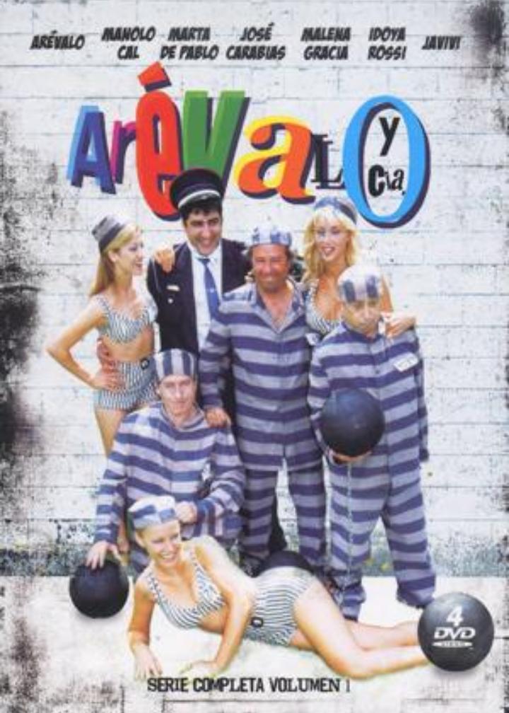 Arévalo, Manolo Cal, José Carabias, Malena Gracia, Javivi, Marta de Pablo, and Idoya Rossi in Arévalo y cia (1994)