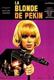 The Blonde from Peking Poster