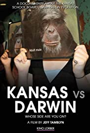 Kansas vs. Darwin Poster
