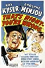 That's Right - You're Wrong (1939) Poster