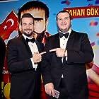 Sahan Gökbakar and Togan Gökbakar at an event for Recep Ivedik 5 (2017)