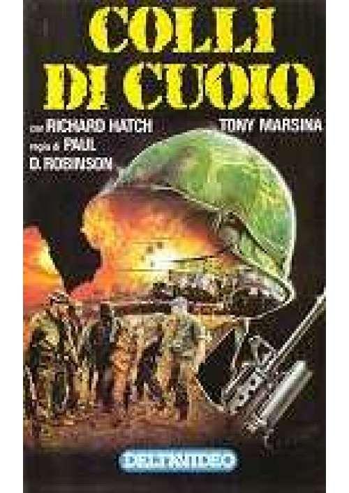 Ignazio Dolce, Richard Hatch, and Antonio Marsina in Colli di cuoio (1989)