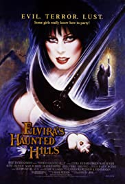 Elvira's Haunted Hills Poster