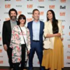 Rosario Dawson, Chad Hamilton, Andy Greenwald, and Ana Lily Amirpour at an event for Briarpatch (2019)