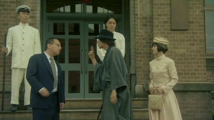 Tomohisa Yamashita and Ayame Gôriki in Kindaichi Kôsuke vs. Akechi Kogorô Again (2014)