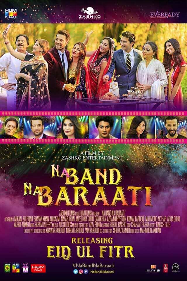 Na Band Na Baraati (2018) Urdu 720p HEVC HDRip x265 ESubs Full  (650MB) Full Movie Download