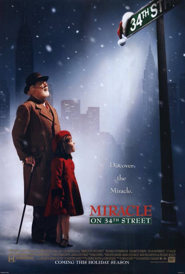 Richard Attenborough and Mara Wilson in Miracle on 34th Street (1994)
