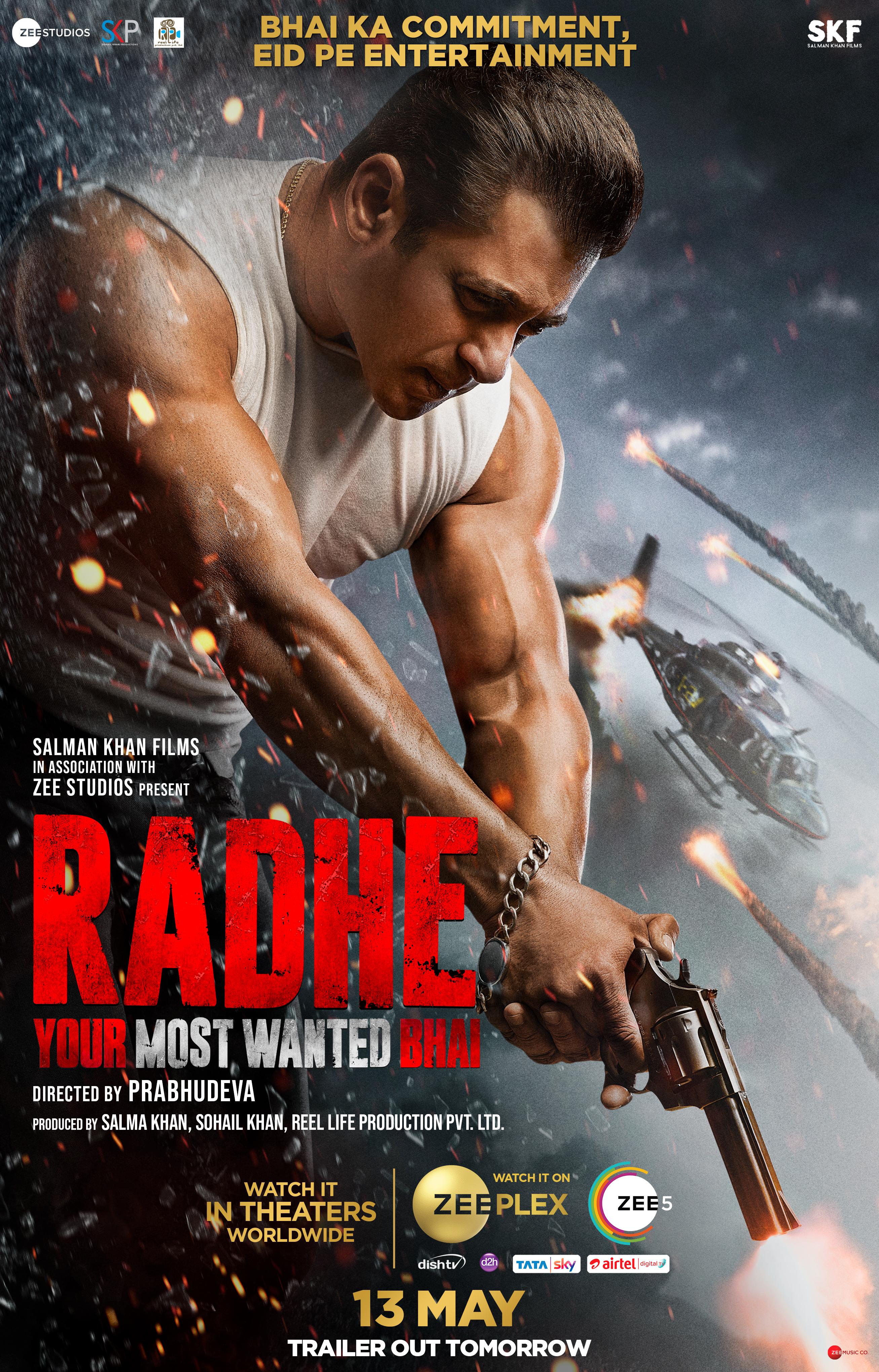 Radhe (2021) Bengali Dubbed 720p HDRip x264 700MB Download