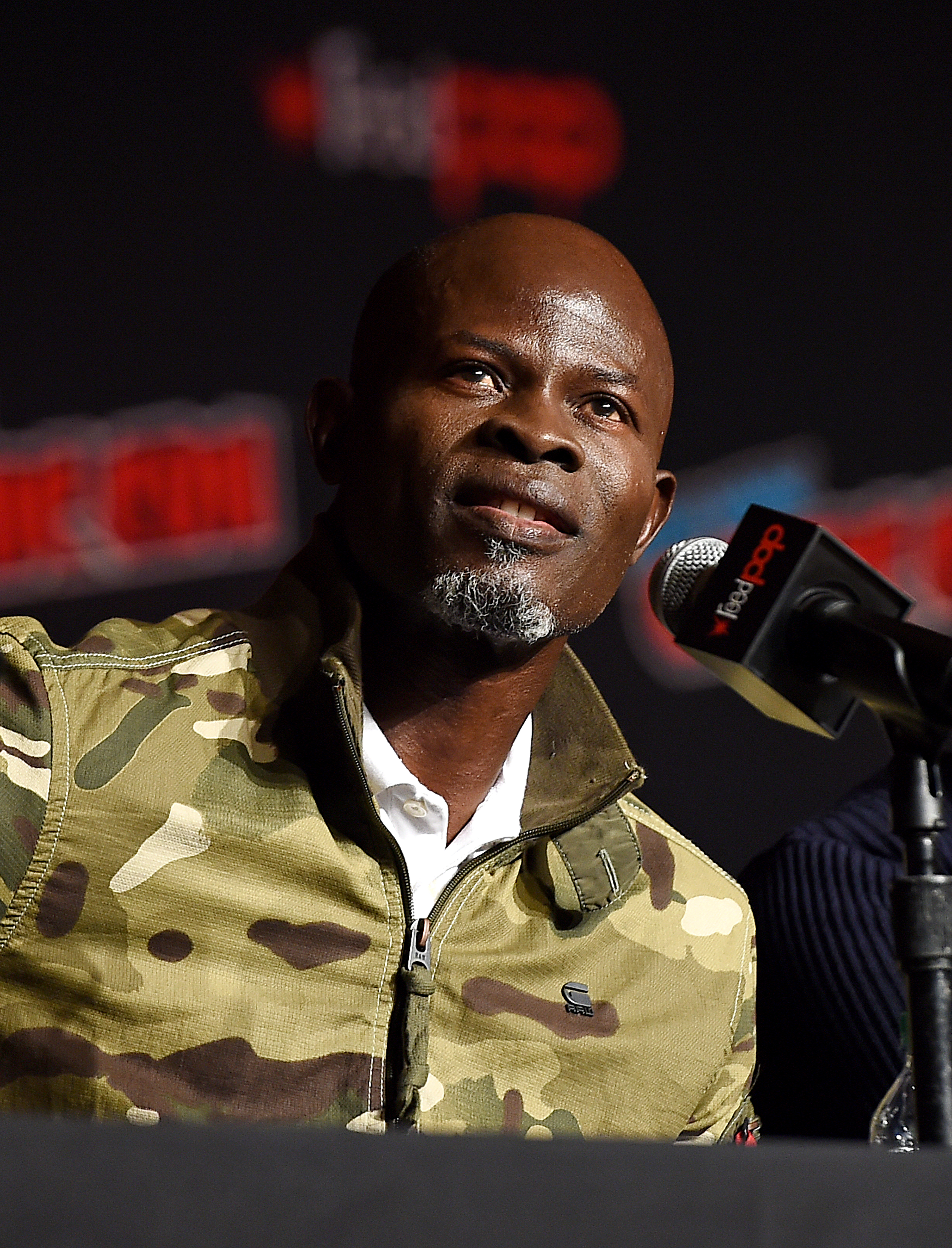 Djimon Hounsou at an event for The King's Man (2021)