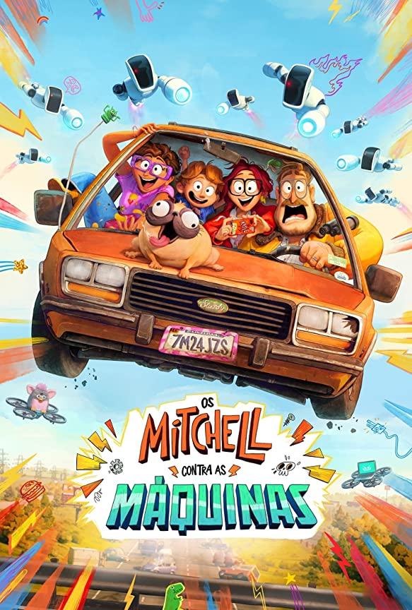 The Mitchells vs. the Machines (2021) Hindi Dubbed
