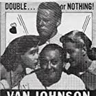 Lionel Barrymore, Gloria DeHaven, Van Johnson, and Marilyn Maxwell in Between Two Women (1945)