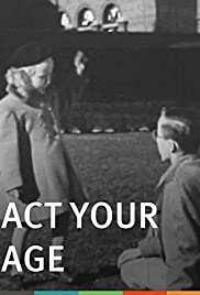 Act Your Age (Emotional Maturity) Poster