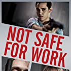 JJ Feild and Max Minghella in Not Safe for Work (2014)