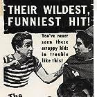 Eddie Foster, Leo Gorcey, Warren Hull, and Bobby Jordan in Bowery Blitzkrieg (1941)