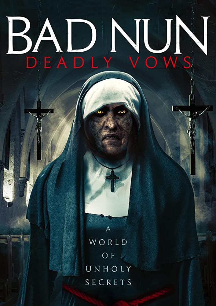 Bad Nun: Deadly Vows 2020 English 720p HDRip 796MB | 300MB Download
