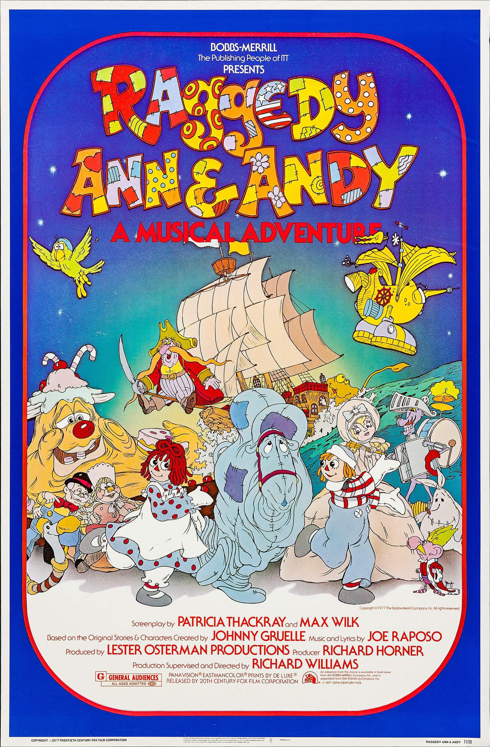 Raggedy Ann & Andy: A Musical Adventure (1977) - IMDb
