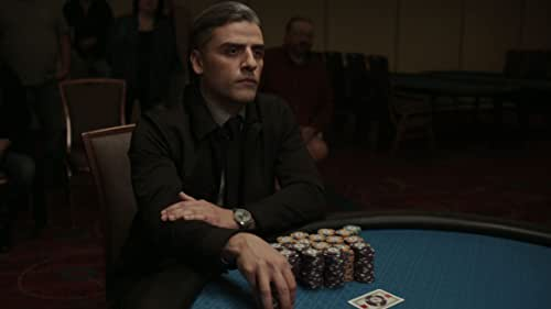 Redemption is the long game in Paul Schrader's THE CARD COUNTER. Told with Schrader's trademark cinematic intensity, the revenge thriller tells the story of an ex-military interrogator turned gambler haunted by the ghosts of his past decisions, and features riveting performances from stars Oscar Isaac, Tiffany Haddish, Tye Sheridan and Willem Dafoe.