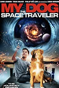 Chris Lemmon, Phillip Edward Van Lear, Tonja Walker, Robin Christian, and Logan Borsari in My Dog the Space Traveler (2014)