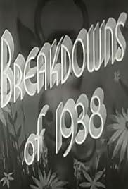 Breakdowns of 1938 Poster