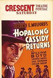 Hopalong Cassidy Returns(1936) Poster - Movie Forum, Cast, Reviews