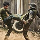 Tiger Hu Chen and Iko Uwais in Triple Threat (2019)