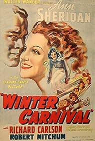 Richard Carlson and Ann Sheridan in Winter Carnival (1939)