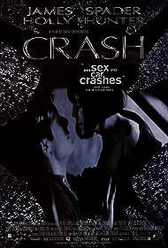 Holly Hunter and James Spader in Crash (1996)