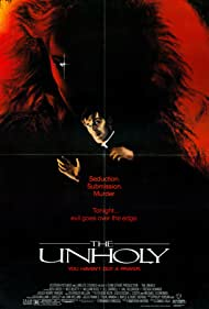 Ben Cross and Nicole Fortier in The Unholy (1988)