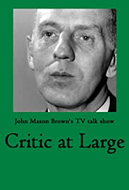 Critic at Large Poster