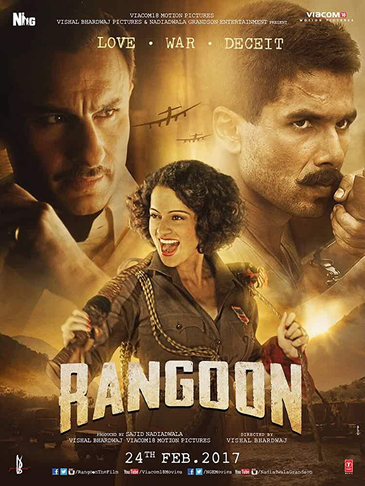 Rangoon 2017 Hindi Dual Audio 550MB UNCUT HDRip 720p ESubs HEVC thumbnail
