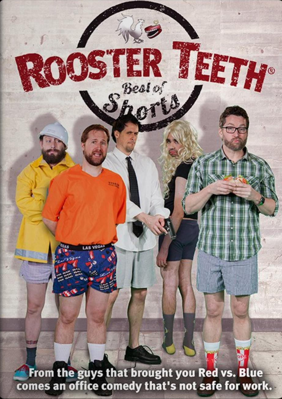 Rooster Teeth Best Of Rt Shorts And Animated Adventures