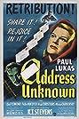 Address Unknown (1944) Poster