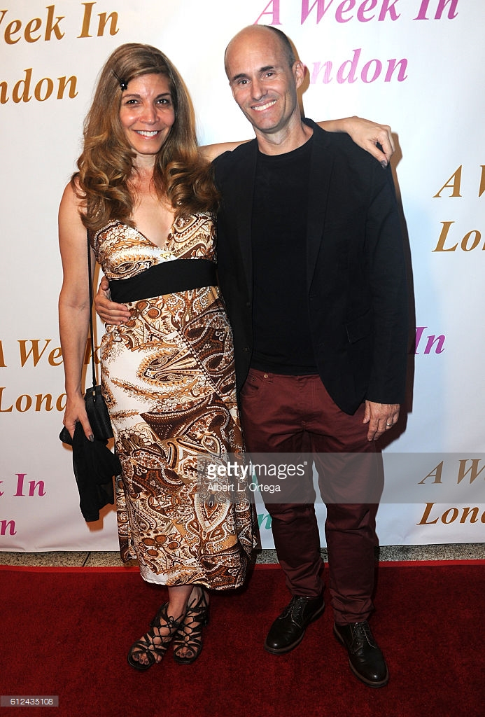 Actors Pamela Hill and William Joseph Hill arrive for the Premiere Of Tanner Gordon Productions' 'A Week In London' held at ArcLight Cinemas Cinerama Dome in Hollywood, California.