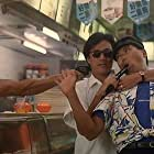 Chow Yun-Fat and Conan Lee in Lo foo chut gang (1988)