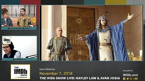 Avan Jogia on Working with Sir Ben Kingsley on 'Tut'