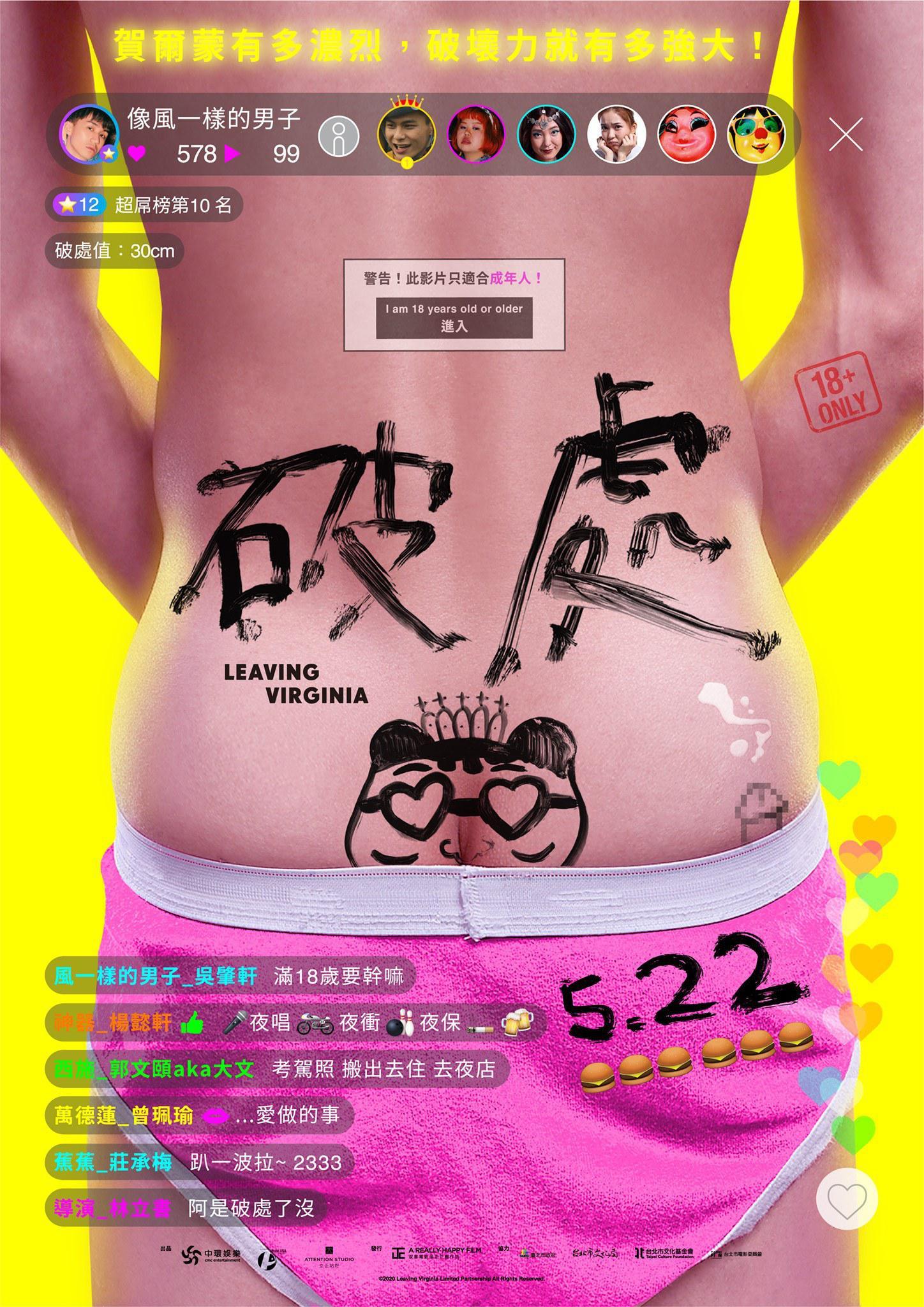 Leaving Virginia (2020) Taiwanese Comedy Movie || 480p || 720p || 1080p