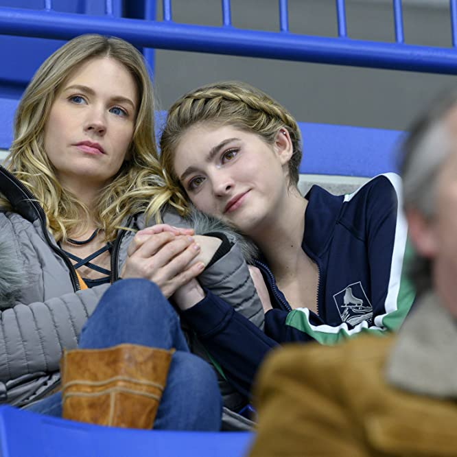 January Jones and Willow Shields in Spinning Out (2020)