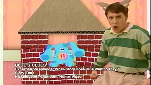 Blues Clues What Story Does Blue Want To Play