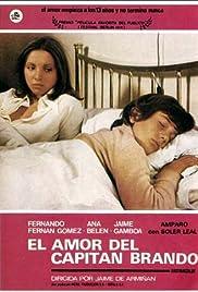 El amor del capitán Brando Poster