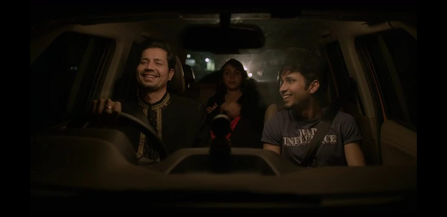 Maanvi Gagroo, Amol Parashar, and Sumeet Vyas in TVF Tripling (2016)