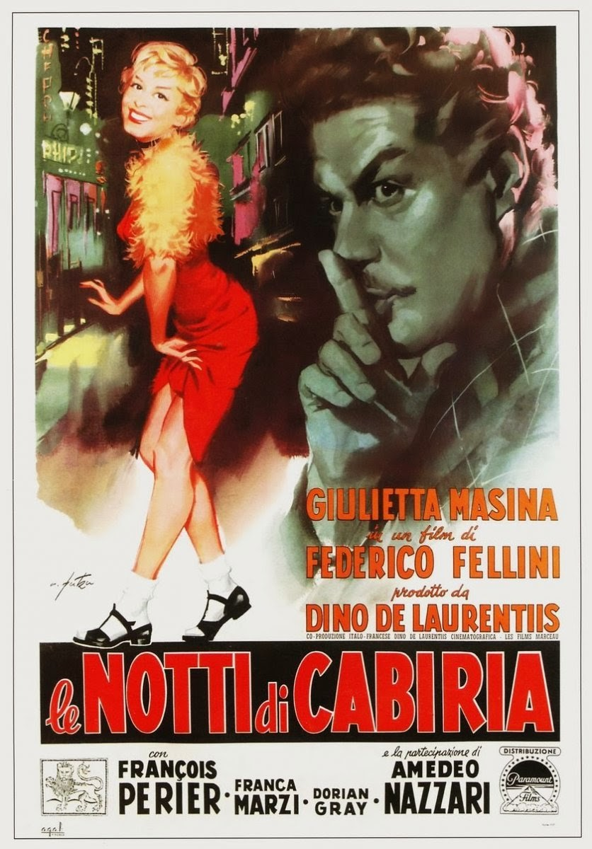 The Nights of Cabiria (1957) DVDRip