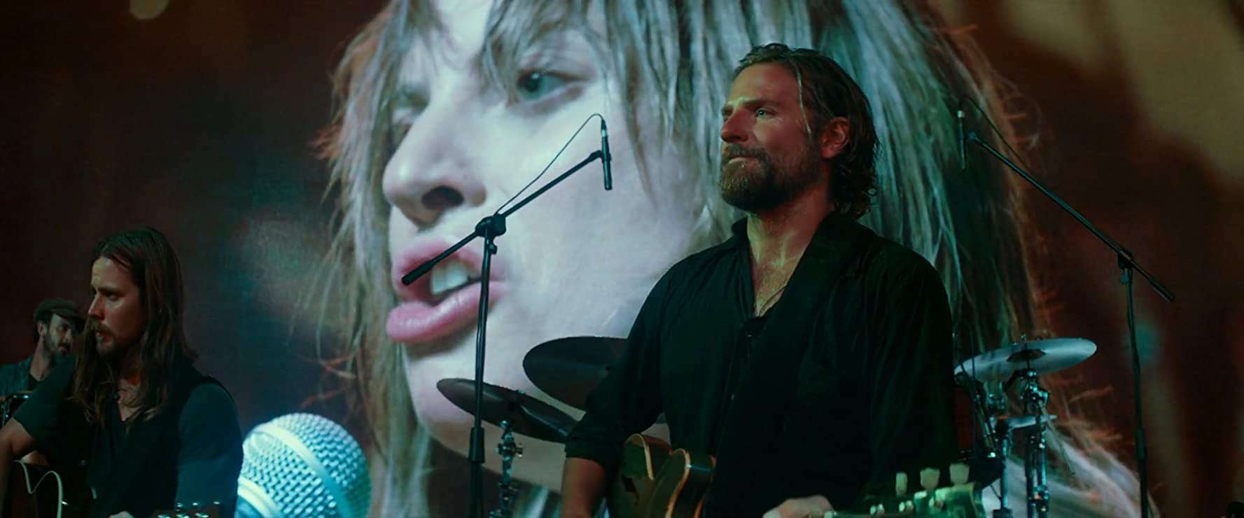 Bradley Cooper, Lukas Nelson, Lady Gaga, and Tato Melgar in A Star Is Born (2018)
