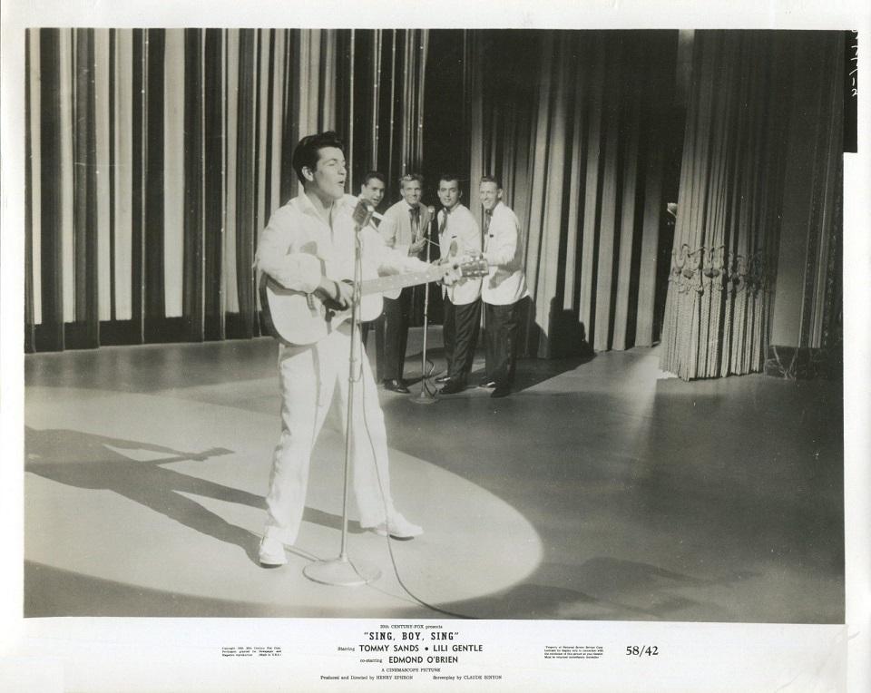 Tommy Sands in Sing Boy Sing (1958)