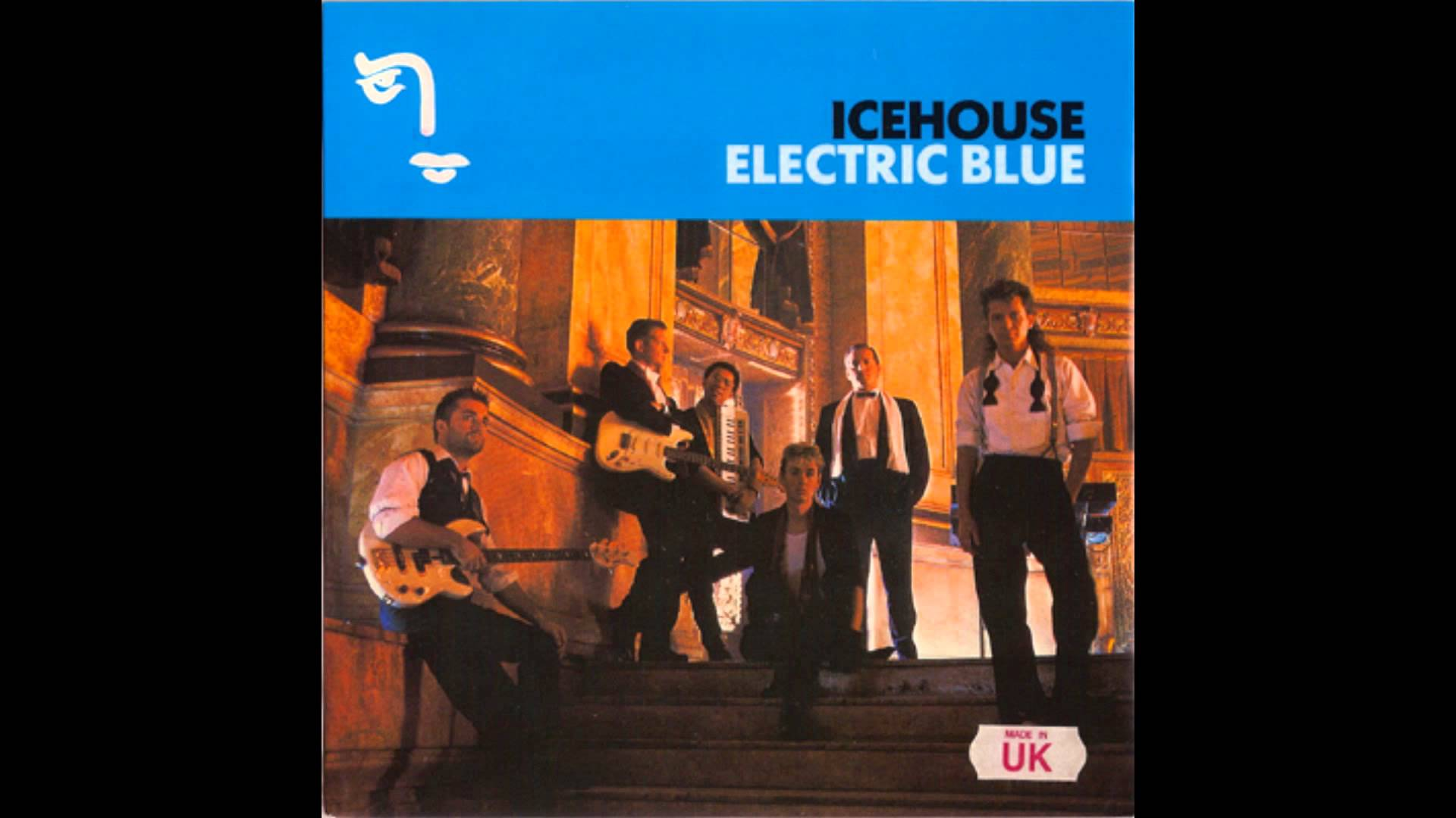 Girl in icehouse electric blue video