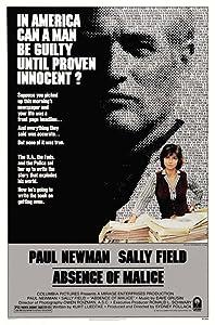 Téléchargement de films en anglais Absence de malice, Shelley Spurlock, Wilford Brimley [mpeg] [2k] [4k] (1981)