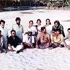Mammootty, Madhu Ambat, Asokan, Bharathan, Balan K. Nair, K.P.A.C. Lalitha, A.K. Lohithadas, Mathu, Murali, and Sainuddin in Amaram (1991)