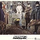 Stella Stevens, Elsa Lanchester, and Bernard Fox in Arnold (1973)