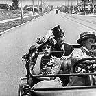 Bebe Daniels, Harold Lloyd, and 'Snub' Pollard in Take a Chance (1918)